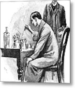 Doyle: Sherlock Holmes Metal Print
