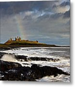 Dunstanburgh Castle Metal Print