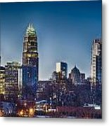 Early Morning In Charlotte Nc Metal Print