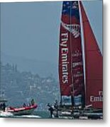 Emirates Team New Zealand Metal Print by Steven Lapkin