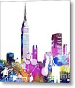 Empire State Building Metal Print