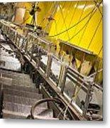 Escalator Construction Works Metal Print