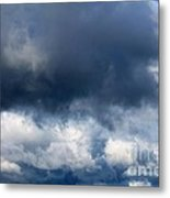 Escaping The Storm Metal Print