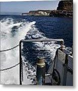 Ferry Hasta Puerto De Mogan Metal Print