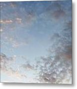 Fluffy Clouds Metal Print