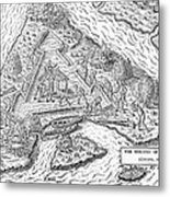 Fort Caroline, 1564 Metal Print