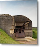 France, Normandy, D-day Beaches Area Metal Print
