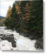 Franconia Notch White Mountians Metal Print