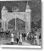 Golden Jubilee, 1887 Metal Print