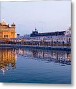 Golden Temple Metal Print