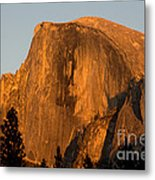 Half Dome, Yosemite Np Metal Print