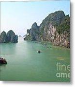 Halong Bay In Vietnam Metal Print