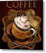 Cappuchino With Choclates Metal Print