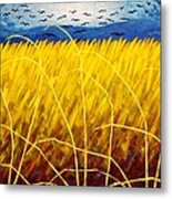 Homage To Van Gogh Metal Print