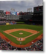 Houston Astros V Texas Rangers Metal Print