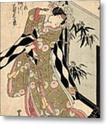 Japan: Tale Of Genji Metal Print