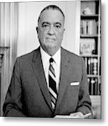 John Edgar Hoover (1895-1972) Metal Print
