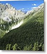 Kindersley Pass Metal Print