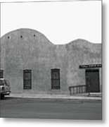 Las Vegas New Mexico Church Metal Print