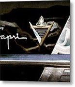 Lincoln Capri Emblem Metal Print