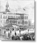 Lincoln's Funeral, 1865 Metal Print