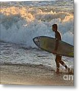 Linda Mar Beach - Northern California Metal Print
