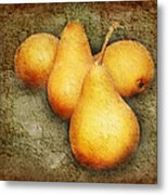 4 Little Pears Are We Metal Print