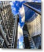 Lloyd's And Willis Group London Metal Print