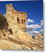 Martello Tower Near St Florent In Corsica Metal Print
