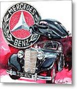 Mercedes Benz 320 Streamline Metal Print