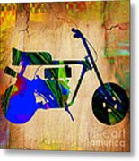 Mini Bike Metal Print
