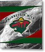 Minnesota Wild Metal Print