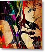 Miranda Lambert Collection Metal Print