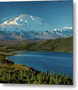 Mount Denali, Previously Known Metal Print