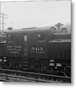New York Central Railroad Metal Print