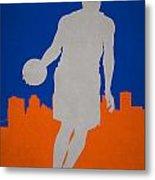New York Knicks Metal Print by Joe Hamilton