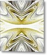 Nonstop Apple Blossom Abstract Metal Print