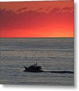 Ocean City Md Sunrise Metal Print