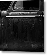 Old Junker Car Metal Print by Edward Fielding