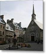 Old Town Quebec - Canada Metal Print