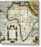 Ortelius, Abraham 1527-1598. Theatrum Metal Print