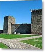 Ourem Castle Metal Print