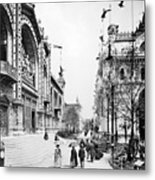 Paris Exposition, 1889 Metal Print