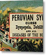 Patent Medicine Metal Print