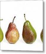 Pears Metal Print by Bernard Jaubert