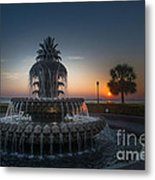 Charleston Sunrise  Metal Print