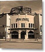 Pnc Park - Pittsburgh Pirates Metal Print