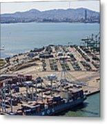 Port Of Oakland, Oakland Metal Print