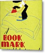 Poster Books, C1938 Metal Print