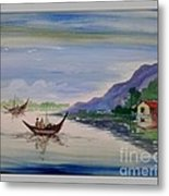 Nature- Poster Colour Painting Metal Print